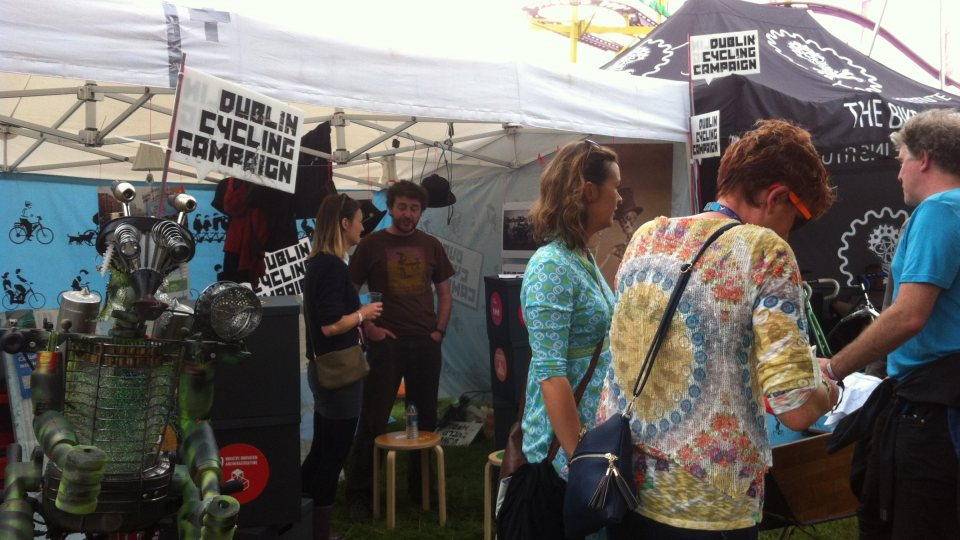 Cycling Campaign presence at Electric Picnic