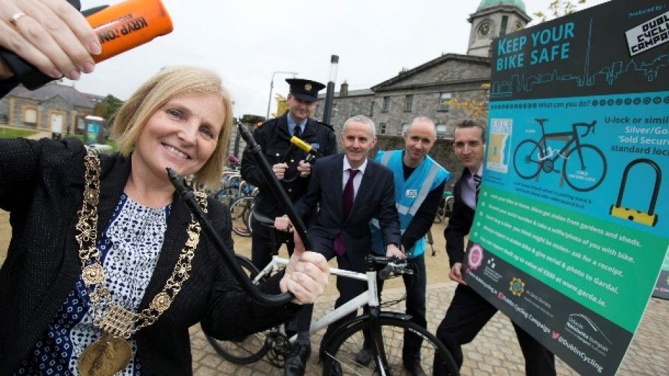 Bike Theft Launch at DIT, Grangegorman