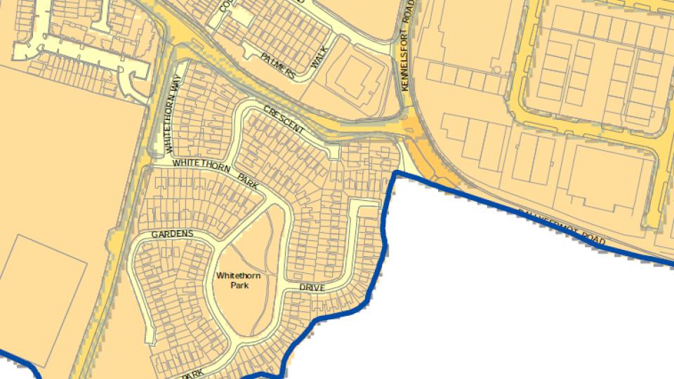 sample 30 kph map