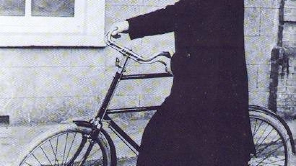 Michael Collins on Bike