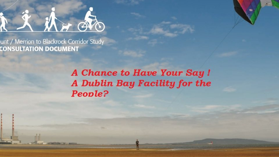 A Cycling Future for Sandymount to Blackrock